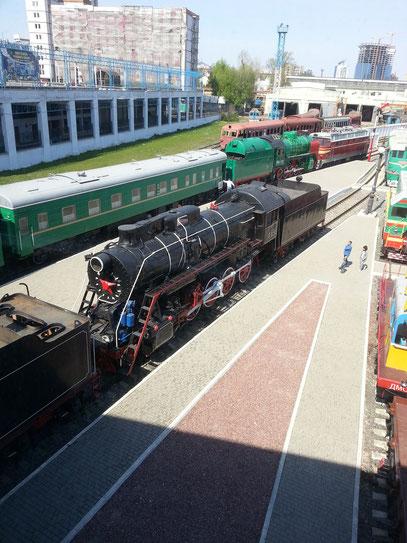 Eisenbahnmuseum Vokzalna