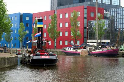 Grachtenfahrt durch Leeuwarden