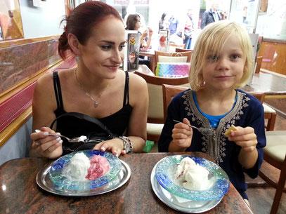 Mit Tanja und Alex ...