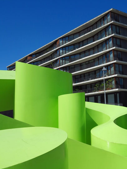 Moderne Plastik im Expo-Gelände