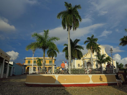 Trinidad, Plaza Mayor, Iglesia de la Santísima Trinidad