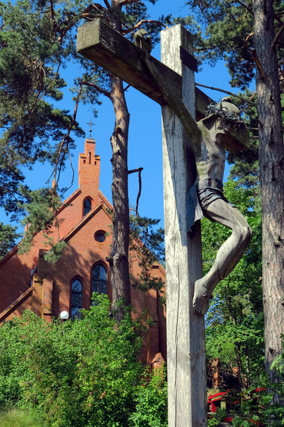 Evangelische Kirche von Nidden im gotischen Stil