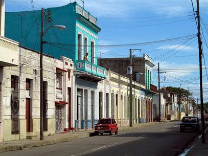 Cienfuegos, Nebenstraße des Paseo El Prado