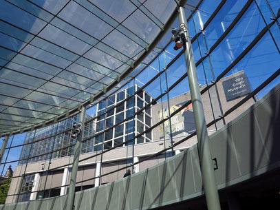 Van Gogh Museum. Blick aus dem Ergänzungsbau