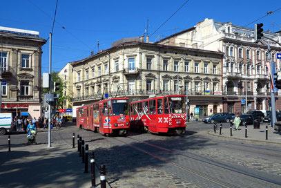 Kreuzung Svobody Avenue/Ruska Street