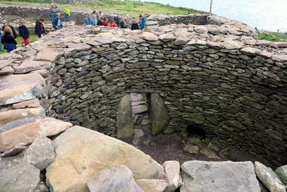 Caher Conor, bewohnt von der Antike bis 1200 n. Chr.
