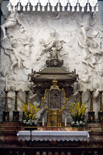 Kasimir-Kapelle, zu Ehren von Fürst Kasimir (1458-1484) erbaut