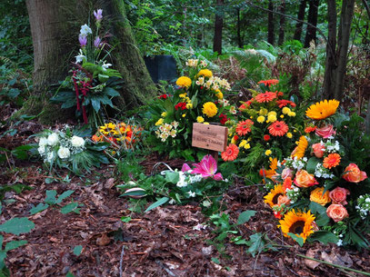 Almuts Beerdigung am 14.09.2013