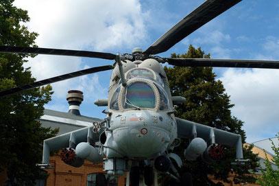 Kampfhubschrauber MIL MI-24, UdSSR (Aufnahme von 2008)