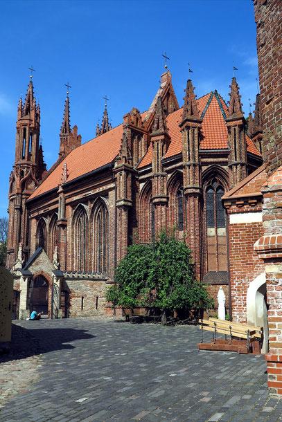 Annakirche, eine der schönsten gotischen Kirchen Nordosteuropas