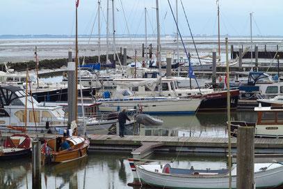 Die HELLA im Yachthafen Schiermonnikoog