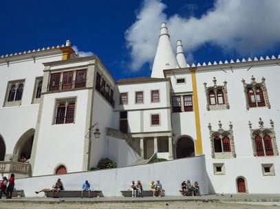 Fassade des Palácio Nacional de Sintra