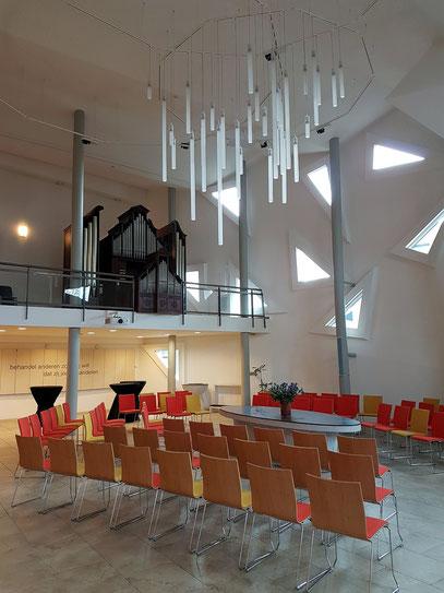 Kirchenraum in der Pauluskerk