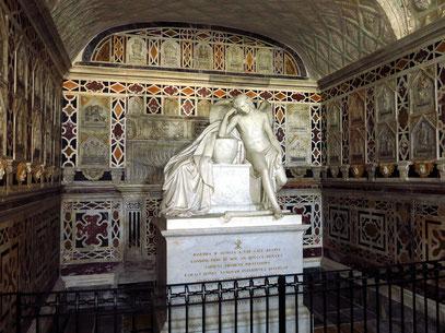 Grabkammer der Krypta