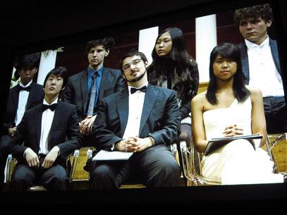 Die Preisträger: Seong-Jin Cho, Charles Richard-Hamelin, Kate Liu