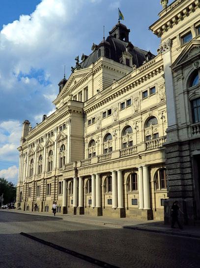 Opernhaus, Seitenansicht