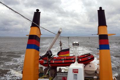 Ausflugsfahrt mit MS Frisia X von Norderney nach Baltrum