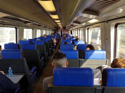 Im Intercity von Eindhoven nach Breda