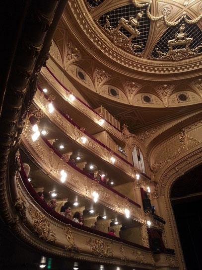 Ränge des Opernhauses