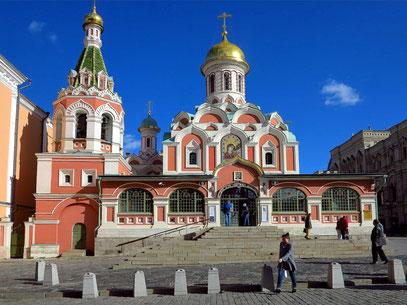 Kathedrale der Muttergottes von Kasan (1993 wieder aufgebaut)