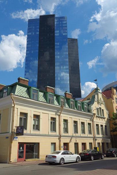 Der Reiz von alter und moderner Architektur ...