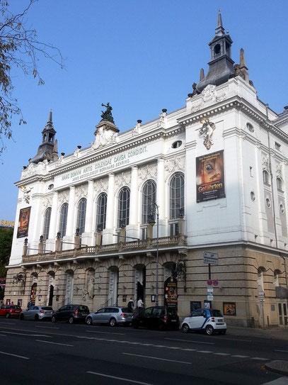 Theater des Westens, Kantstraße, 1895/96. Musicals und Operetten