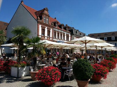 Kaffeehaus Schwetzingen am Schlossplatz