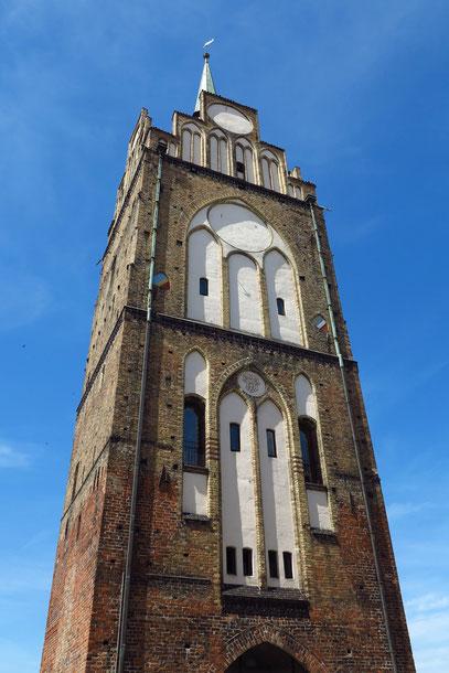 Kröpeliner Tor am westlichen Stadtausgang von Rostock
