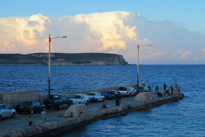 Mole für Fischerboote vor dem Hotel Riviera Resort