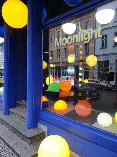 Lampengeschäft in der Reinhardtstraße