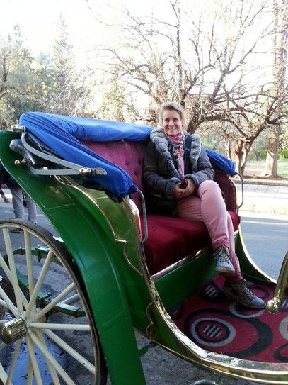 Kutschfahrt in Marrakesch