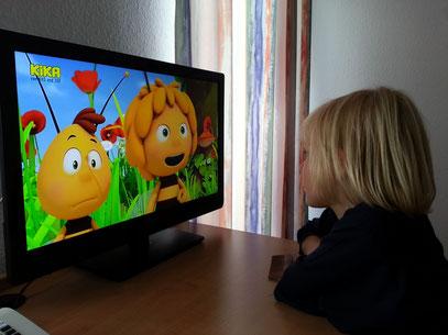 Biene Maja im KiKa-Fernsehen