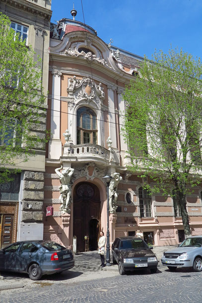 Barocke Hausfassaden