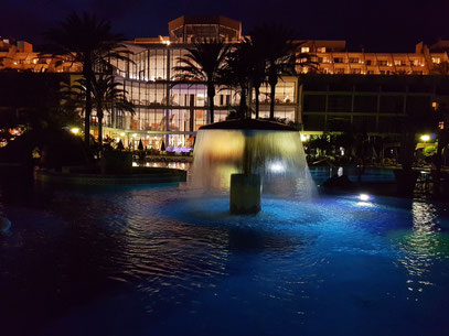 ... des Hotels SBH Costa Calma Palace, Besuch der Lounge Bar