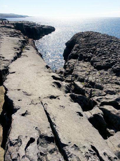 Kliffküste des Burren, eine Karstlandschaft