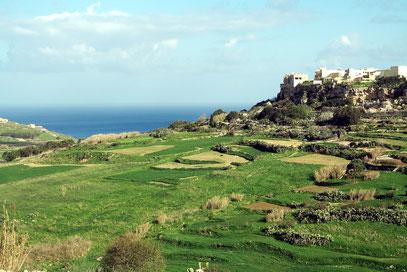 Landschaft auf Gozo