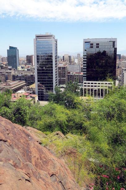 Blick vom Cerro Santa Lucía