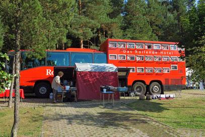 Campingplatz Nida/Kurische Nehrung in Litauen