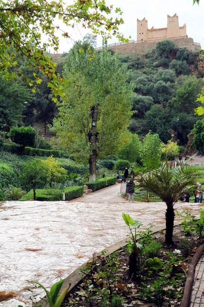 Stadtpark an der Quelle Ain Asserdoun