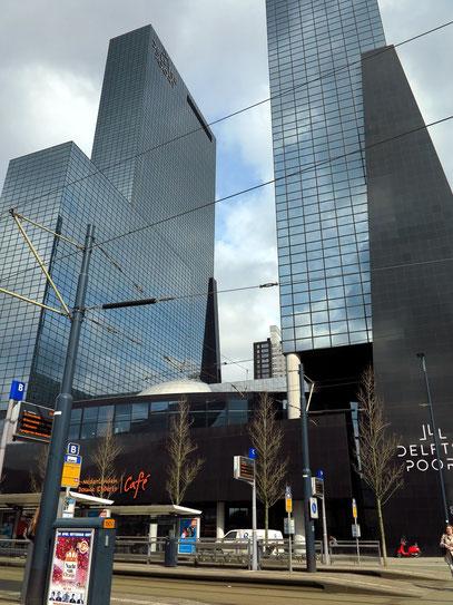 Bürogebäude Deltse Poort. Haus 1: 151 Meter, 41 Etagen