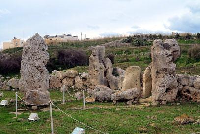 Tempel von Skorba bei Mġarr, 1992 UNESCO-Weltkulturerbe