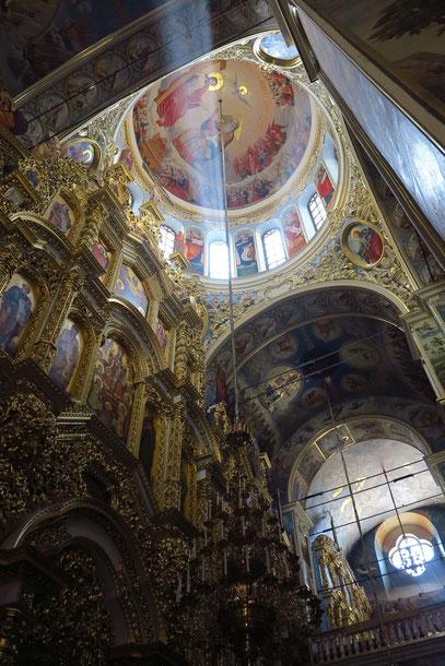 Mariä-Himmelfahrt-Kathedrale, Blick in die Kuppel