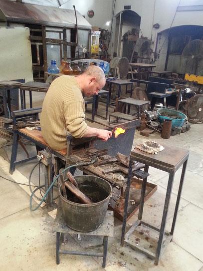 Glasbläserei im Kunsthandwerkerdorf Ta'Qali