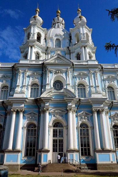 Smolny-Kloster, ein wundervolles Beispiel barocker Architektur