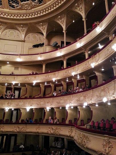 Ränge im Opernhaus