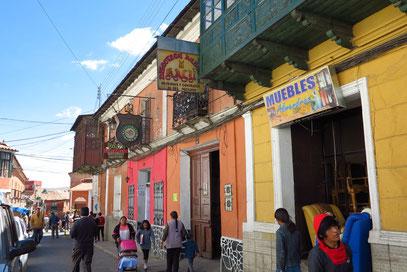 Straßenbilder von Potosí