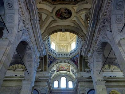 Gewölbe der Kathedrale