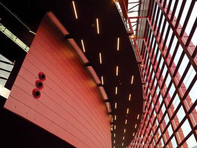 Innenraum des modernen Operngebäudes