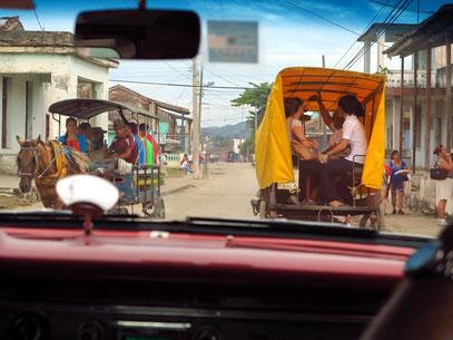 Typisches Straßenbild