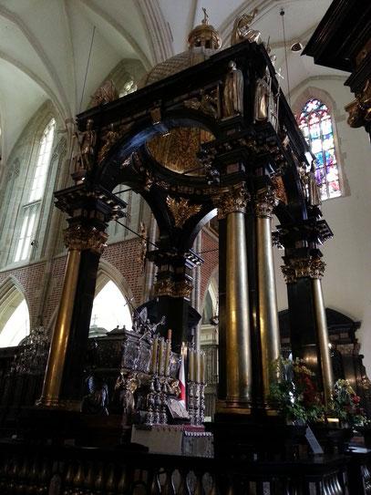 St. Stanislaus-Mausoleum in der Wawel-Kathedrale